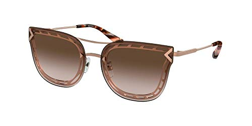 Tory Burch Unisex 60mm 0TY6067 Rose Gold/Light Brown Gradient/Dark Brown One ()