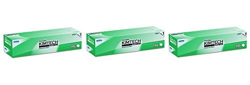 Kimwipes Delicate Task Kimtech Science Wipers (34133), White, 1-PLY, 15 Pop-Up Boxes / Case, 196 Sheets / Box, 2,940 Sheets / Case (3-(15 Pop-Up Boxes/Case))