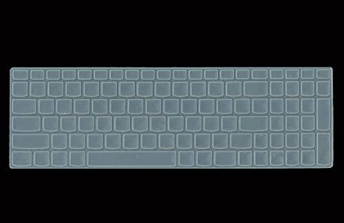 Saco Chiclet Keyboard Skin for Lenovo G500 (59380704) Laptop 15.6-inch Laptop - Transparent