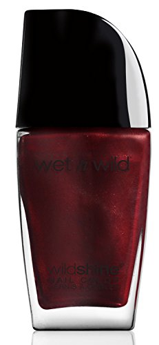 wet n wild Shine Nail Color, Burgundy Frost, 0.41 Fluid Ounce