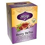 YOGI TEA,OG3,BERRY DETOX, 16 BAG