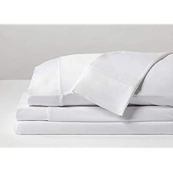 SHEEX - Performance Sheet Set with 2 Pillowcases, Ultra-Soft Fabric Transfers Body Heat and Breathes Better Than Traditional Cotton, Bright White (King/California King)