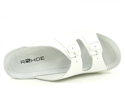 Rohde Neustadt 1463 00 - Mules Mujer Weiß
