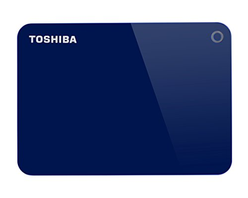 Toshiba Canvio Advance 1TB Portable External Hard Drive USB 3.0, Blue (HDTC910XL3AA) by Toshiba (Image #1)