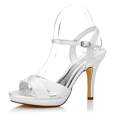 Office Shoes amp;Amp; Women'S CN40 Career Heels Dress amp;Amp; Club Bucklestiletto 5 Wedding Wedding EU39 5 Comfort Summer Shoes Spring Party Dyeable Evening US8 Outdoor Silk UK6 qqFY7