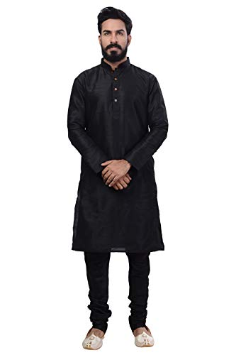 Rajwada Ethnic Bollywood Men Indian Kurta Churidar 2pc Suit's (Small (36), - Suit Churidar
