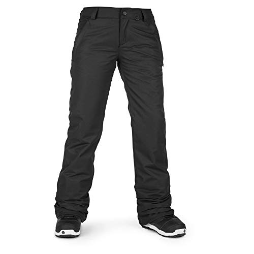 (Volcom Women's Frochickie Insulated Lined Snow Pant, Black, Medium)