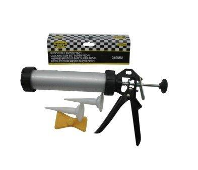 Beast Kartuschenpresse Profi 240 mm, Aluminium Kartuschenpistole Auspresspistole Bayram