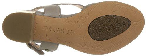 Neosens Callet 146 - Zapatos de Vestir de cuero mujer gris - Gris (Alabastro)