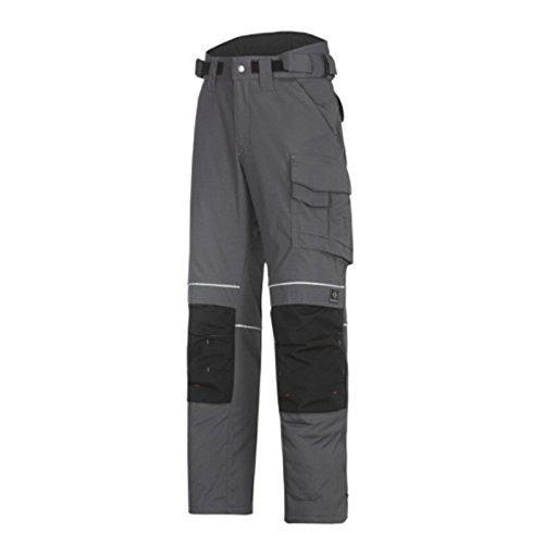 Snickers 36195804196 Pantalon d'Hiver Power Taille 196 Acier Gris/Noir