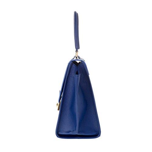Dudu - Sac à main - Dollaro - Trapeze - Bleu - Femme