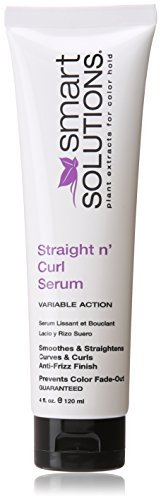 Smart Solutions Straight Curl Serum, 4 Fluid Ounce by Smart Solutions (Solution Straight)