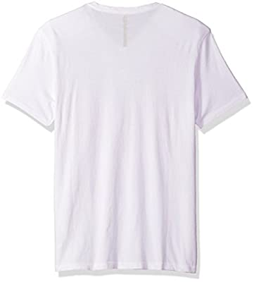 Calvin Klein Jeans Men's Short Sleeve Tonal Hd Logo V-Neck T-Shirt