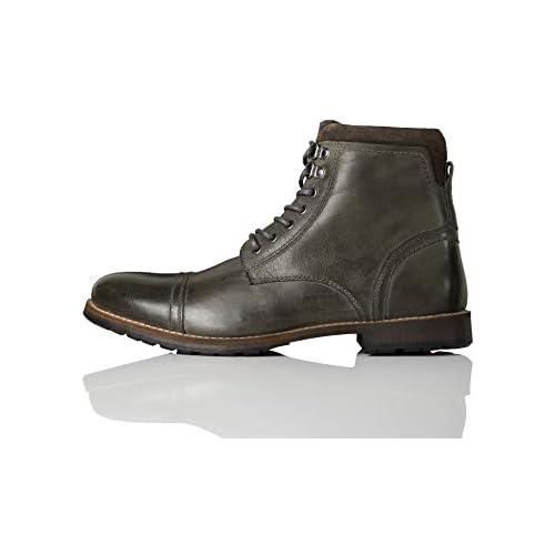 chollos oferta descuentos barato find MAX Leather Botas Chukka Gris carbón 44 EU