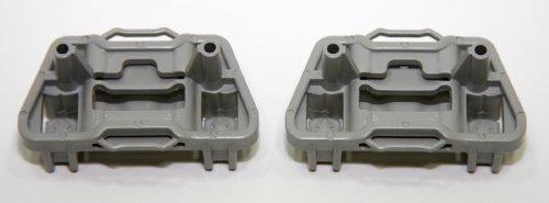 RegulatorFix Window Regulator Repair Clips (2) - Front Left (Driver Side) Pair for Ford Focus