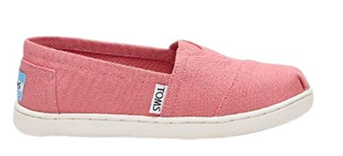 Image of TOMS Girls' 10009919 Alpargata-K, Pink, 3.5 M US Little Kid