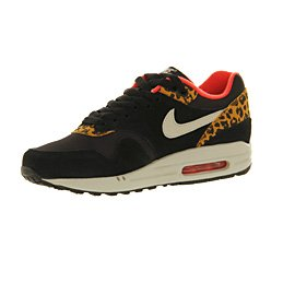 timeless design 4a503 c178c Nike Air Max 1 (l) Black Gold Leopard Excl - 4.5  Amazon.co.uk  Shoes   Bags