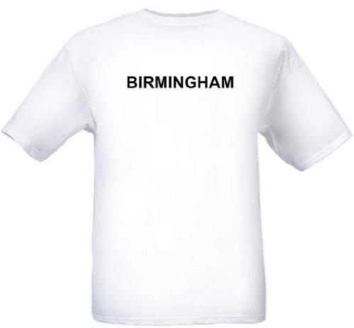 BIRMINGHAM - City-series - White T-shirt - size Small -
