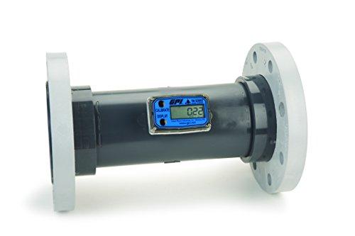 FLOMEC TM400-F, TM400-F TM PVC Turbine Flowmeter 4 Inch 60-600 GPM 150# ANSI Flange ()