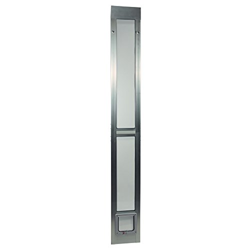 Ideal Pet Products Aluminum Modular Pet Patio Door, Cat Flap, 6.25