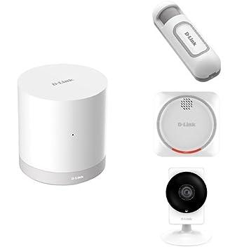 D-Link - Kit Alarma, cámara 180° y sensor de movimiento con ...