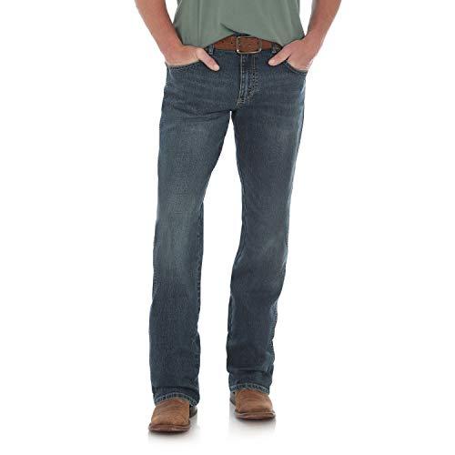 Wrangler Men's Retro Relaxed Fit Boot Cut Jean, Alpine, 32W x 30L ()