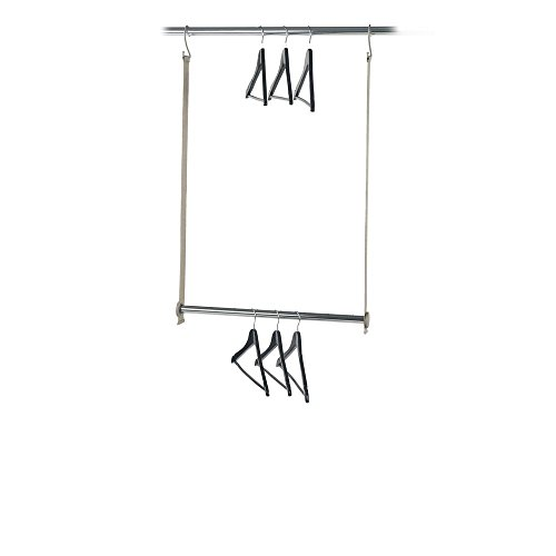 neatfreak 5616-ST closetMAX Double Hanging Expandable MAXbar (Hang Double Closet)