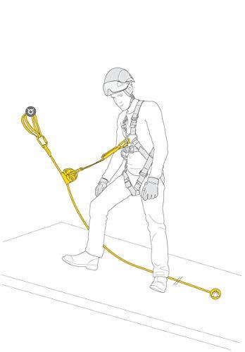 PETZL ASAP Lock Vertical Lifeline Kit 20 M, Unisex
