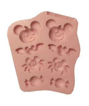 Halloween III Mickey Mouse,Minnie Mouse,fondant, soap cupcake topper Cake Silicone Mold By Oh! Sweet Art FDA Approved for Food, Cupcakes -