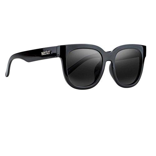 Nectar Beryl - Black Polarized Oversized Clubfarer Sunglasses with Black - Beryl Sunglasses
