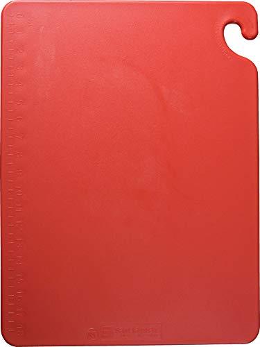 """San Jamar CB121812 Cut-N-Carry Co-Polymer Cutting Board, 18"""""""