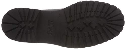 Outdoor Boot Jeans Hilfiger Chelsea 008 Uomo Denim Marrone Tommy magnet Stivali 6tqtfXSnxw