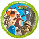 Monsters vs Aliens Foil Balloons