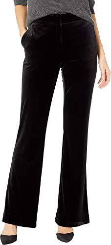 Calvin Klein Women's Velvet Pants Black 2 33