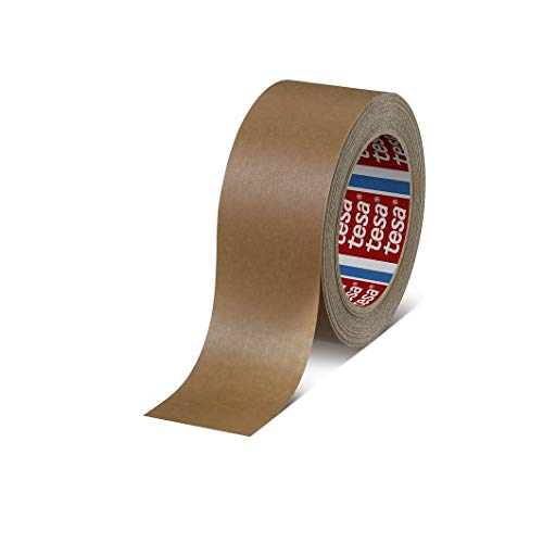 2 Rolls Tesa 4313 PV0 High Performance Paper Carton Sealing Tape, Brown, 2inch/ 165 ft ()