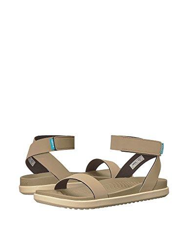 Sandals Brown Flat Women's Shoes Native Juliet nYpqTwSxf
