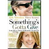 Something's Gotta Give (2003) Jack Nicholson (Actor), Diane Keaton (Actor) | Rated: PG-13 | Format: DVD