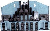 T-Slot Machinist Clamp Kits 1//2-13 Stud x 11//16 Tbl 1 Thick Step Blk.