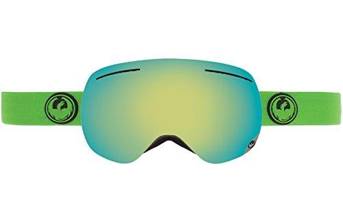 Dragon Alliance X1 Ski Goggles, Reflect/Smoke Gold Ion