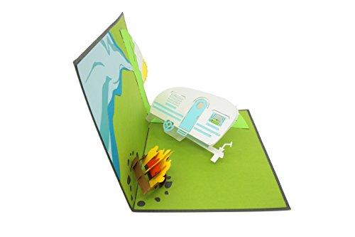 31gIuEWwT L PopLife Cards Camping-Ausflug Pop-up-Karte - alle Gelegenheiten
