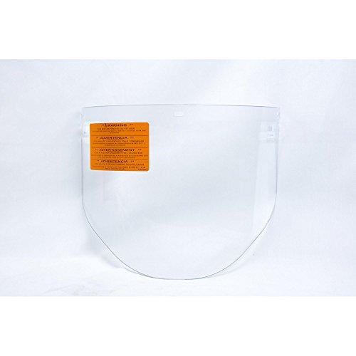 (Faceshield Visor, Prpinate, Clear, 9x14-1/2in, Each)