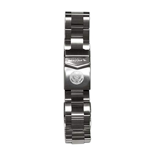 Marathon WW005005US Stainless Steel, Military Grade Bracelet's (20mm, US Great Seal)