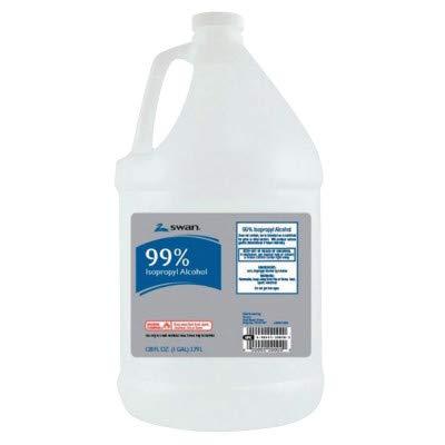 Pac-Kit 12-670 Alcohol Isopropyl 99%, 1 gal Bottle (Pack of 4)