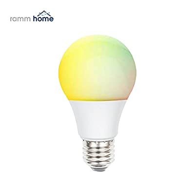 SmartBulb Wi-Fi Connected LED Lamp | Color Changing RGB Dimmable Light Bulb With Adjustable Brightness | Compatible With Amazon Alexa, Android Smartphones & iOSDevices | Control Lights From Distance
