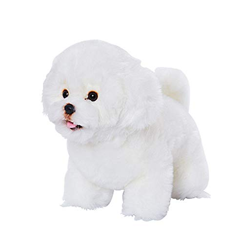 - EZNECREATION EZENDOLLS Premium with Pet Bichon Frise Plush Toy Stuffed Animals Doll