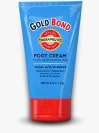 Crème Gold Bond Foot, Triple Action de secours, Tubes de 4 onces (Pack de 3)