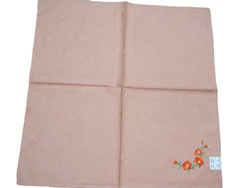 Furoshiki Japanese traditional wrapping cloth handkerchief.Bento box lunch box wrapping cloth.Cotton100% Made in Japan(Rose) ()