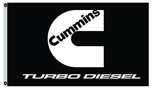 Annfly Cummins Banner Flag Turbo Diesel Engine 3X5FT Banner