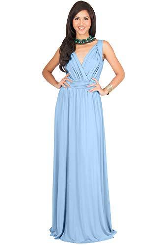 light blue maid dress - 1