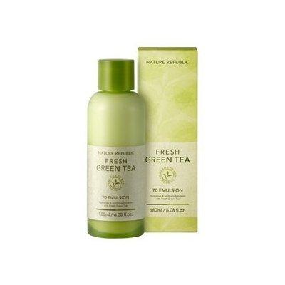 Buy Republic Tea - Nature Republic Fresh Green Tea 70 Emulsion 180ml